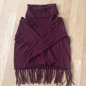 Michael Kors Fringe Turtleneck